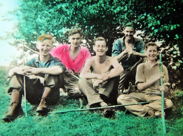Expedition to East Coker Woods, Whit-Monday 1944
