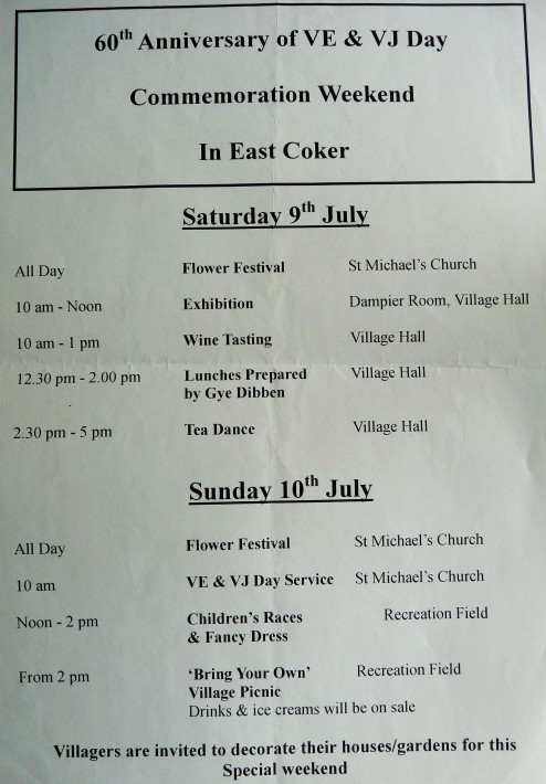 East Coker Commemorations