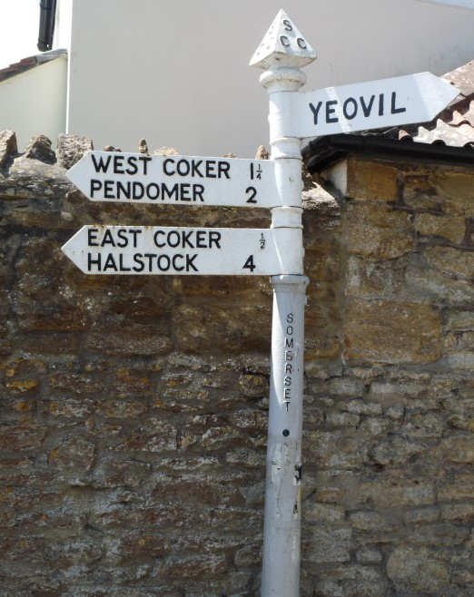 Sunken lanes and cast iron signposts around East Coker