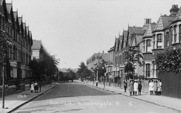 Holly Park Road 1915