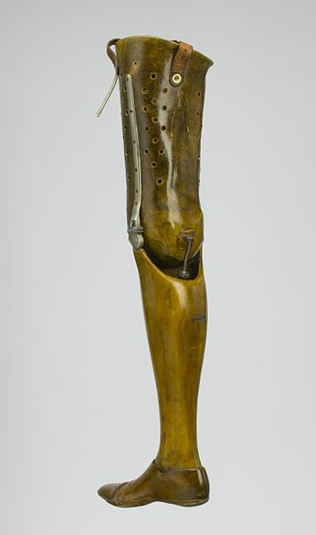 Artificial_left_leg,_London,_England_Wellcome_L0057949
