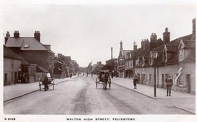 Walton-High-Street-Felixstowe-Horse-Cart-unused