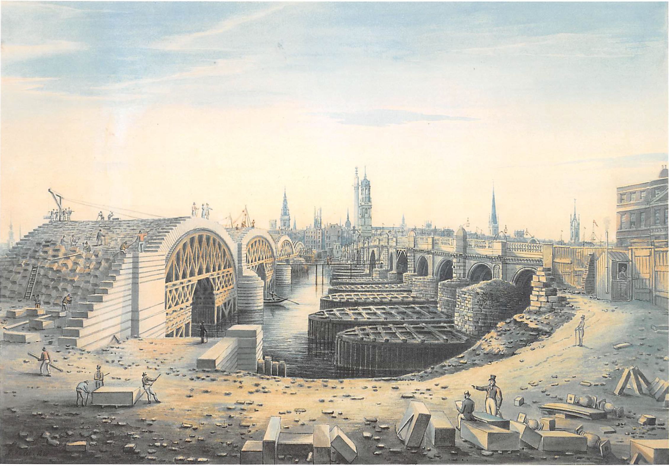 The_Construction_of_New_London_Bridge_alongside_the_old_bridge_by_Gideon_Yates,_1828.png