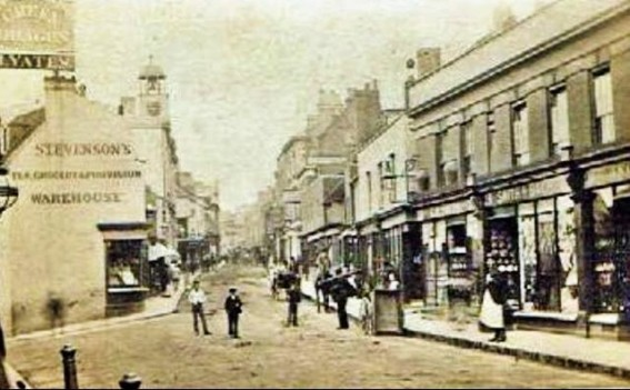 CROYDON HIGH STREET c1870