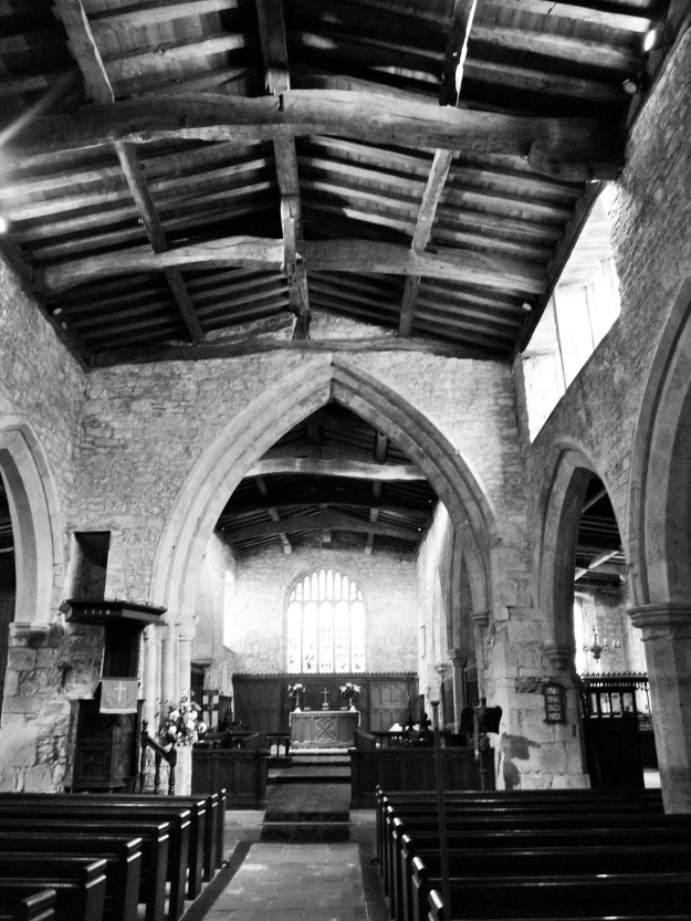 Holy Trinity Church Wensley Interior.JPG