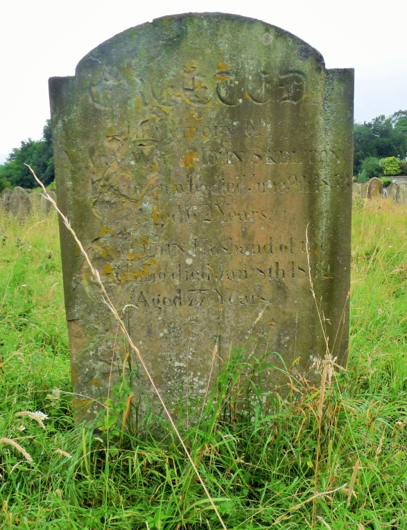 John Skelton's Grave in Wensley.JPG