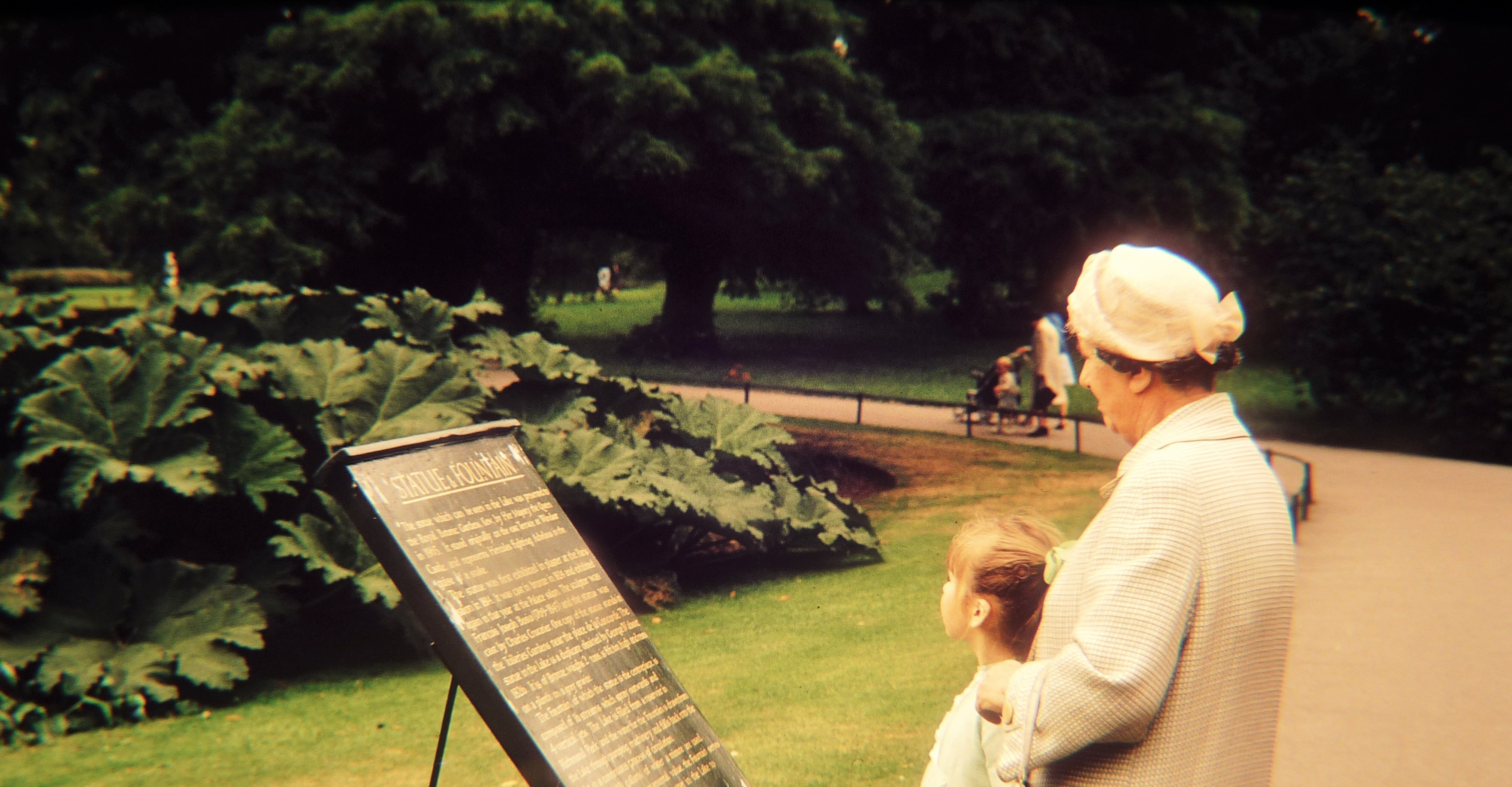 KEW GARDENS WITH GRANDMA SKELTON
