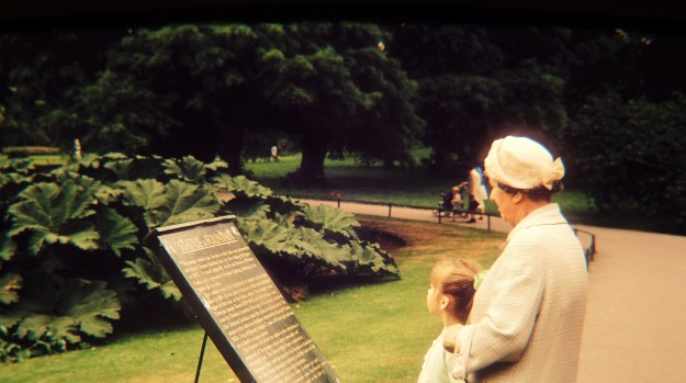 At Kew with Grandma Skelton