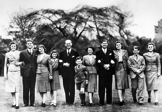 Kennedy Family, London 1938