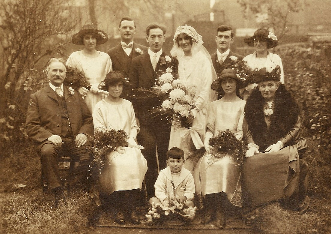 Skelton Marriage in 1924